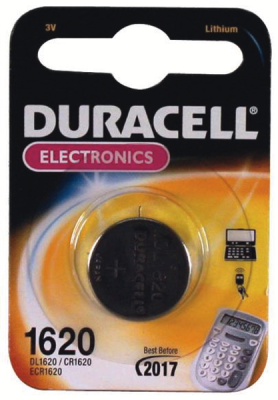Duracell knoopcel lithium electronics DL120