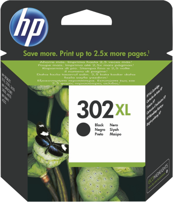 Hewlett Packard HP 302XL ink black
